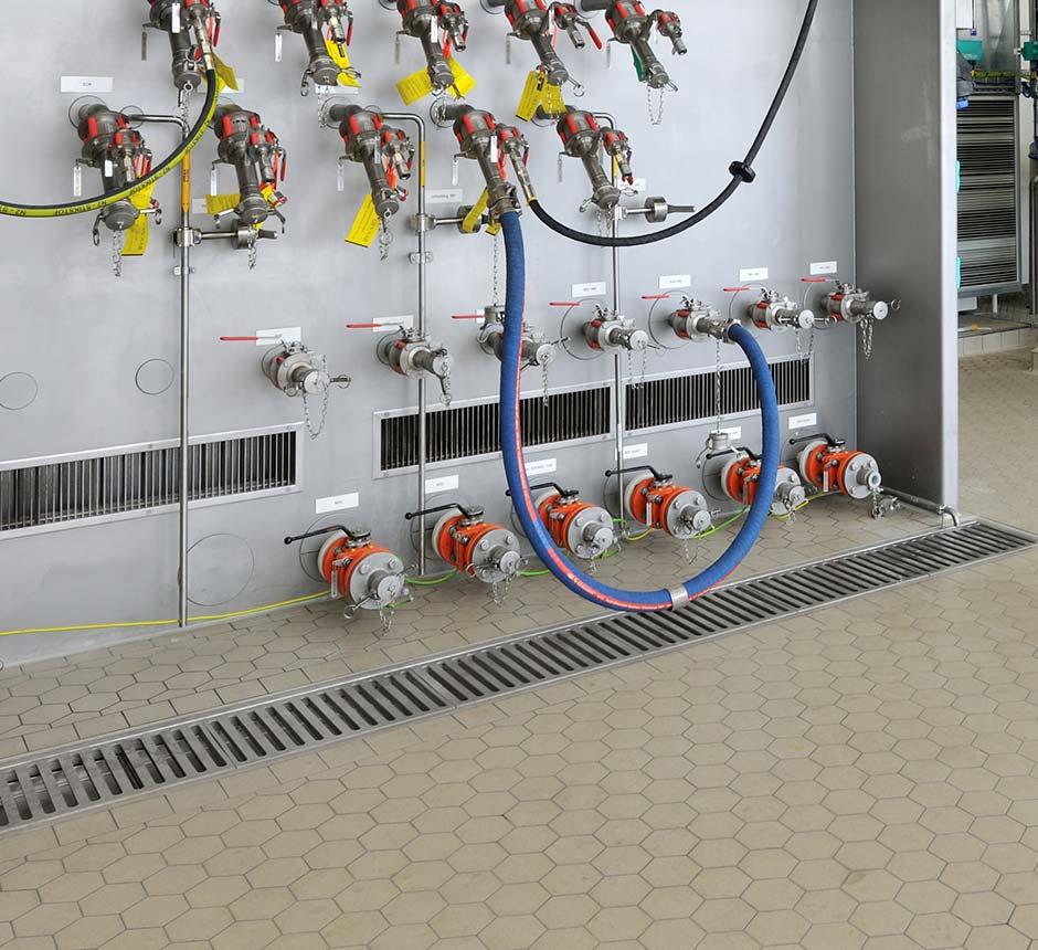 Kents standard box drain channel in use