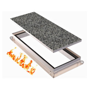 Model of Kent's Single Tray Fire Rated Access Cover Large