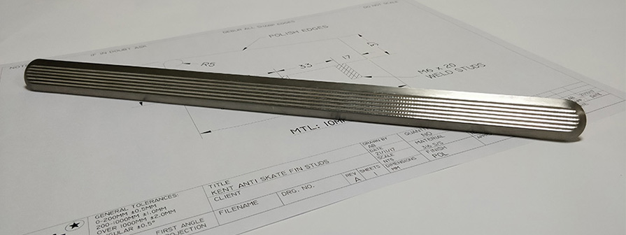 Stainless Steel Strips by Kent