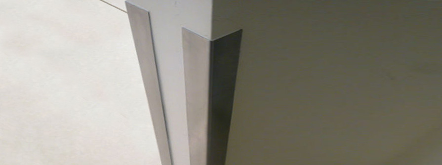 Kent's Stainless Steel Corner Guard
