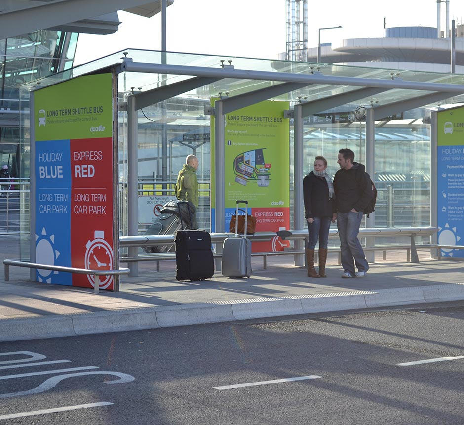 Kents airport shelter in use