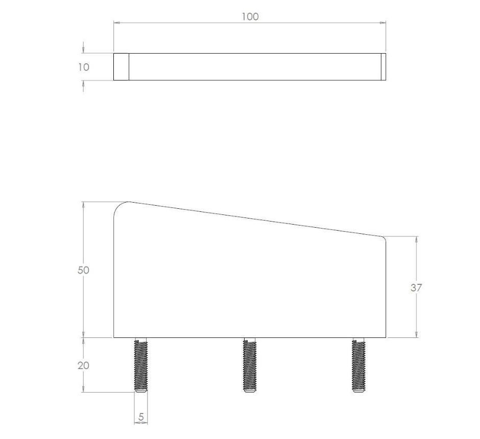 stainless-steel-anti-skateboard-studs-line-drawing-KFS100