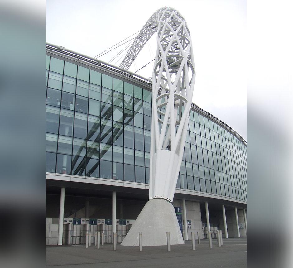 Entrance to Wembley stadium