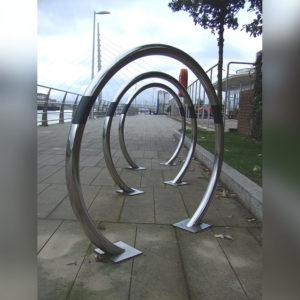 Kent's Swansea Cycle Racks