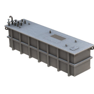3D model of Kent's Double Contained Aqueous Waste Sump