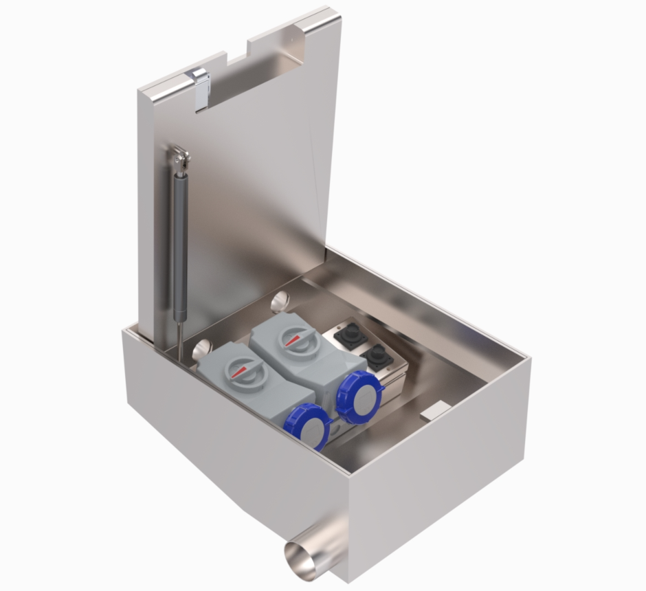 Type 7 Internal shallow box by Kent