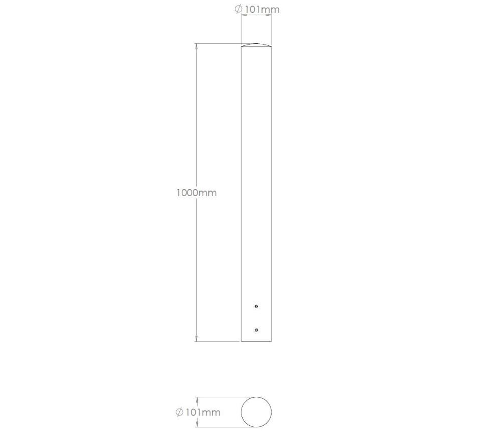 stainless-steel-internal-cleanroom-bollards-KICB101-hidden-fixing (9)