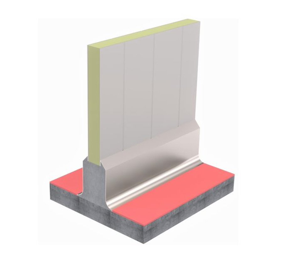 3D Model of Kent's Double Sided Kerbing