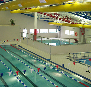 Small picture of a swimming complex