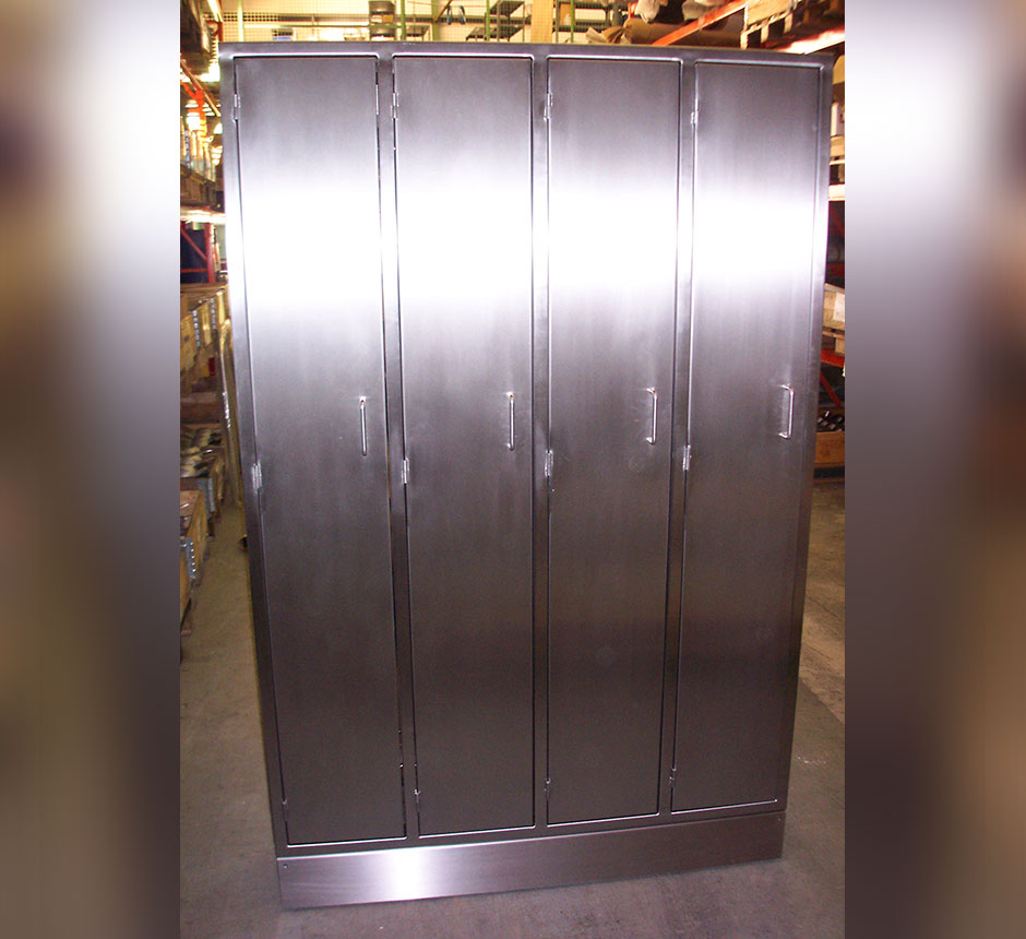 Kent's Stainless Steel Locker Cabinets