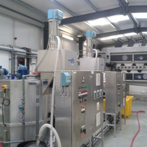 Polymer Preparation System in a factory