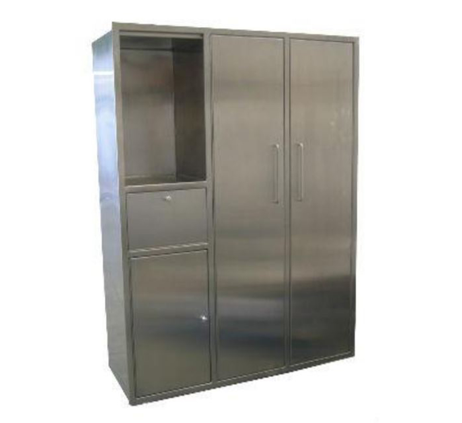 Model of Kent's Recessed Gowning Cabinets