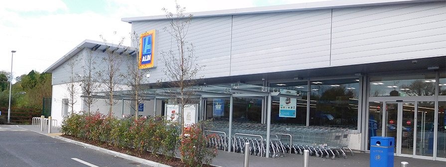 Kent's retail project for Aldi in Wexford