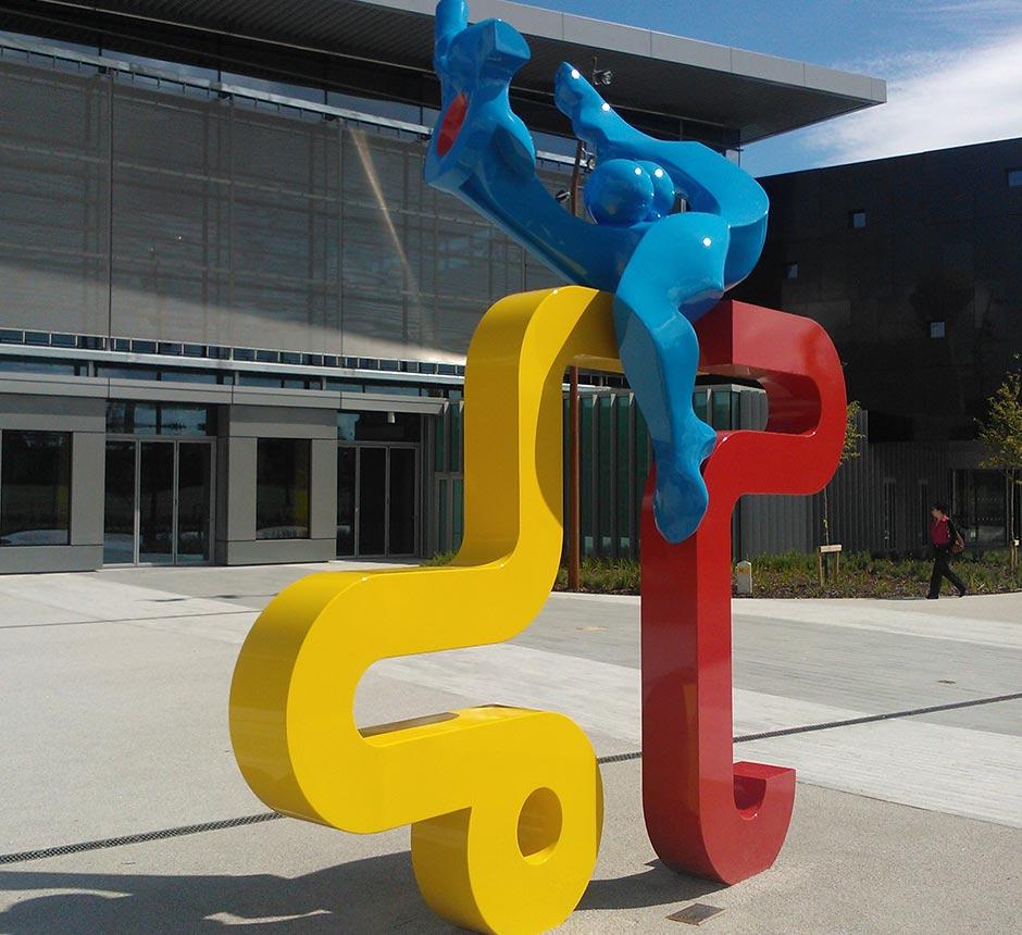 Kents Joie de vivre sculpture for UCD