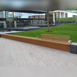 Front view of Kents Kings Cross Bench
