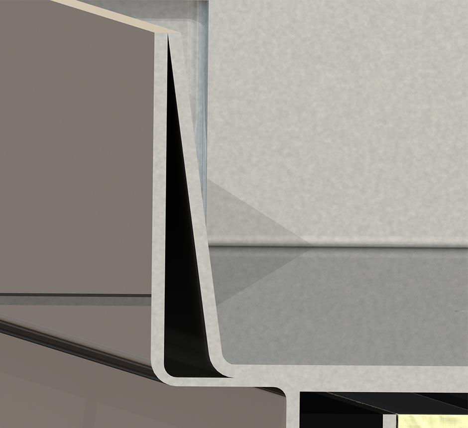 Close up model of Kent's Solo Internal Manhole