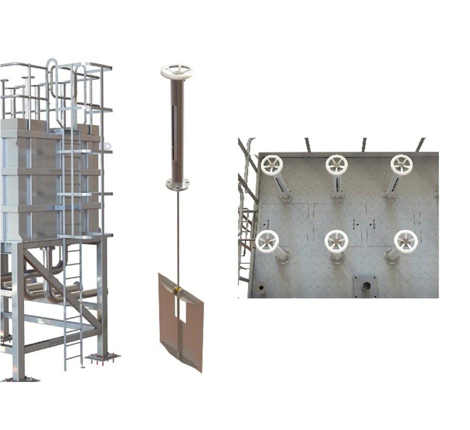 3D Models of Kent's Splitter Box Flow Control Tank