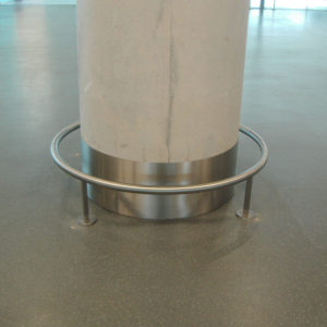Stainless Steel Skirting by Kent