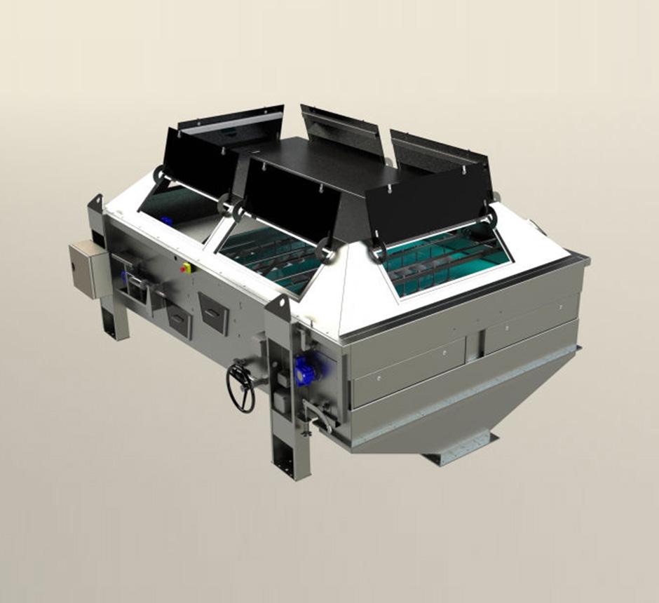Model of Unison 100 Gravity Belt Thickener