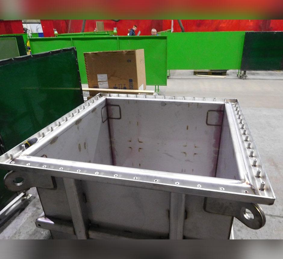 Kent's Zoned Process Waste Tank