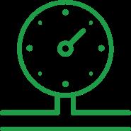 Hydraulic testing icon