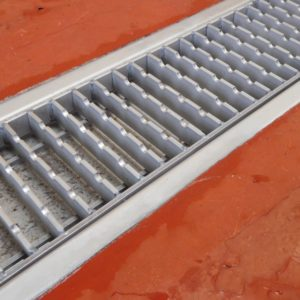 Fully fitted Antislip Ladder Grating by Kent