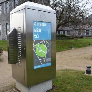 A model of Kent's Interactive Wayfinding Kiosk