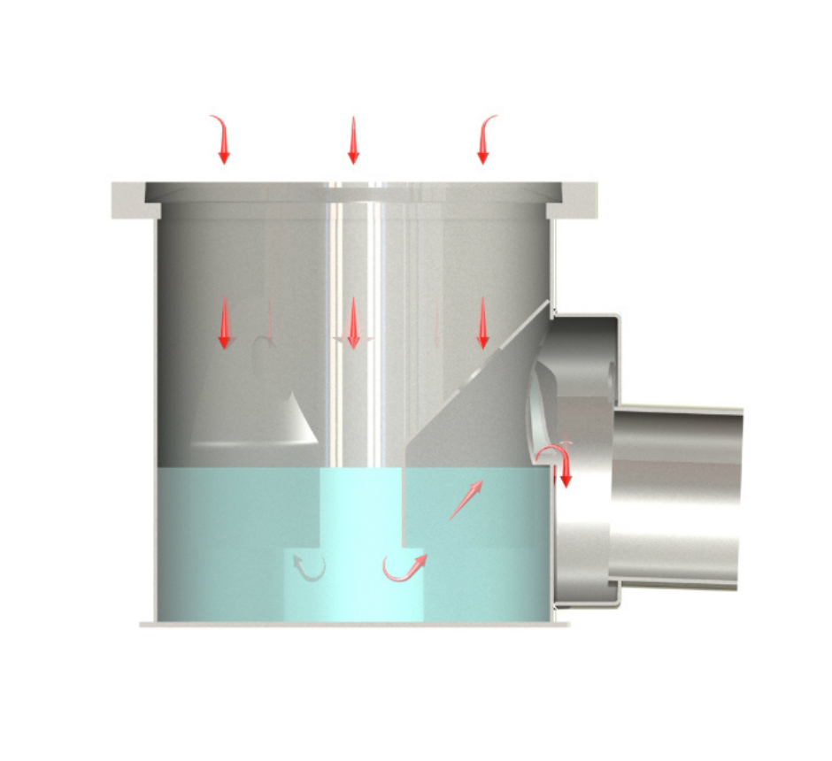 """stainless-steel-cleanroom-gully-with-foul-air-trap-KHCR2654""""-SQ (3)"""