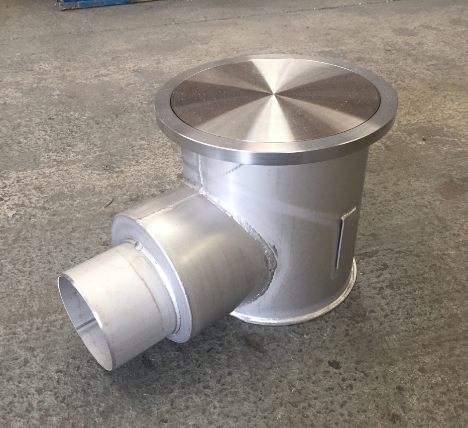 """stainless-steel-cleanroom-gully-with-foul-air-trap-KHCR2654""""-SQ"""